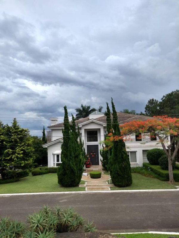 Jardim entrada Casa